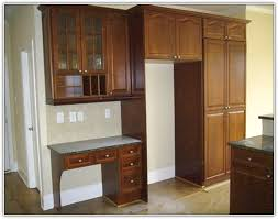 kitchen cabinet desk ideas kitchen desk cabinet ideas home design ideas