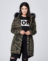 Free People Parka Camouflage Cotton Parka Simply Be