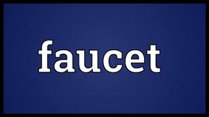 Water Faucet Definition Faucet Meaning Youtube