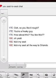 Kid Chat Rooms Under 12 by Is This How People Use Virgin America Inflight Messaging System