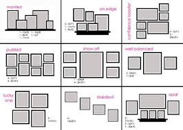 How To Arrange Cheat Sheet On How To Arrange Frames On The Wall Home Ideas I