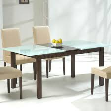 4 Seater Glass Dining Table Sets Square Dining Tables For 4 Glacier Square 4 Post Dining Table With
