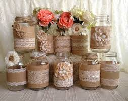 jar centerpieces for baby shower 25 rustic baby shower ideas resource