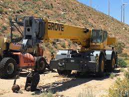 grove rt760e rough terrain crane for sale on cranenetwork com