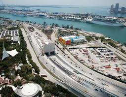 Port Of Miami Map by The Port Of Miami Tunnel Bouygues Construction