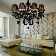 Black Chandelier Lighting by Compare Prices On Black Crystal Chandeliers Online Shopping Buy