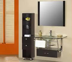bathroom design modern bathroom glass vanity set vanity and bath