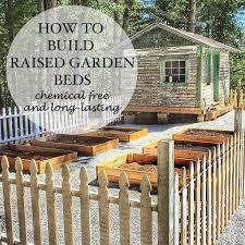 Cedar Raised Garden Bed Building Raised Cedar Garden Beds