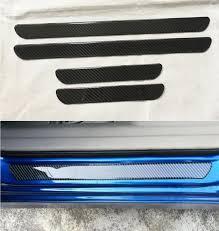 Exterior Door Sills Carbon Fiber Exterior Door Sill Scuff Plate Threshold Cover Plate