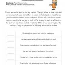 sequencing worksheets 5th grade free worksheets library download