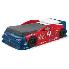 Step2 Corvette Bed Step2 Stock Car Convertible Toddler To Twin Bed Walmart Com
