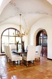 wall stencil designs for painting dining room mediterranean with