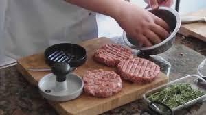 Backyard Grill Stuffed Burger Press by