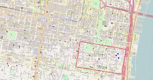 Philadelphia Neighborhood Map File Street Map Of Central Philadelphia With The Society Hill