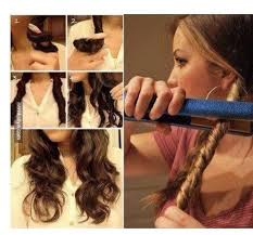 different ways to curl your hair with a wand different ways to style your hair with a straightener