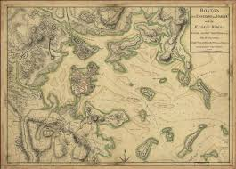 Map Of Boston Harbor by Antique Map Boston Harbor 1775