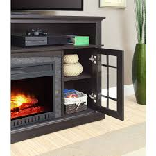 better homes and gardens console fireplace media mission for tvs