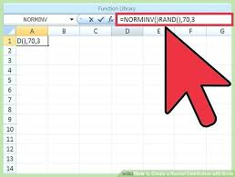 normal distribution graph in excel image titled create a normal distribution with excel step 6 normal