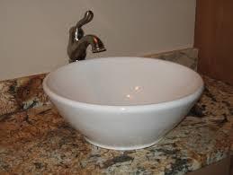 Vanity Top Bathroom Sinks by Stylish Sink Bowl On Top Of Vanity Bathroom Vanity Top Mounted