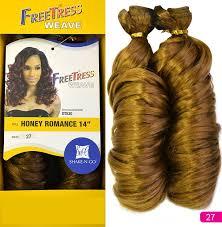 honey weave freetress weave honey 14 inch