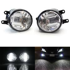 lexus is300 white fog lights amazon com ijdmtoy 2 oem spec xenon white high power cree xb d