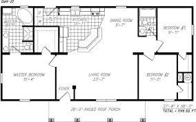single open floor house plans simple one house plans contemporary creative ideas modular