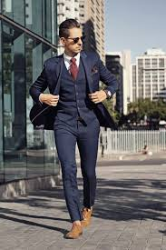 blue three suit mens suits tips