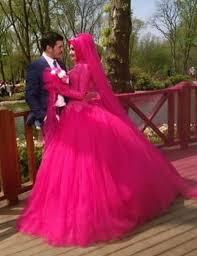 muslim wedding dress robe de mariage high neck lace gown wedding gowns muslim