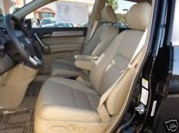 honda crv seat cover 2011 honda crv leather interior seat covers ivory ebay