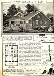 craftsman bungalow floor plans vallonia sears modern homes