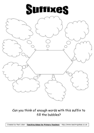 suffixes worksheet teaching ideas