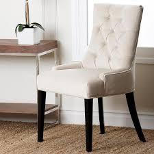 White Modern Dining Chair Best Cream Fabric Dining Chairs Chairs Glamorous White Modern