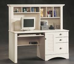 office computer desk hutch writing antique dorm workstation