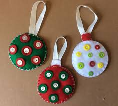 felt christmas ornaments 5 steps with pictures