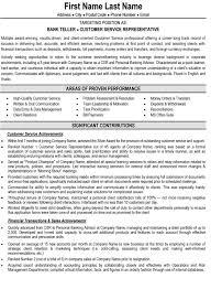 Bank Teller Resume Examples No Experience by Download Bank Teller Resume Haadyaooverbayresort Com