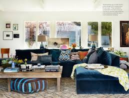 Blue Sectional Sofa With Chaise Lovely Diy The Look Bilson S Boho Minimalist Home Blue