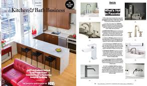 kitchen collection magazine mod faucets featured in kitchen bath business magazine
