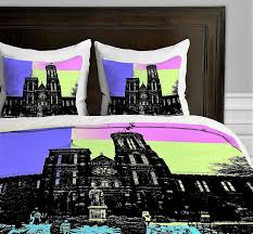 deny designs amy smith cathedral duvet cover queen sized
