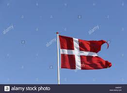 denmark flag heaven blue national flag flutter blow jutland