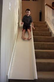 Diy Banister Diy Stair Slide Or How To Add A Slide To Your Stairs