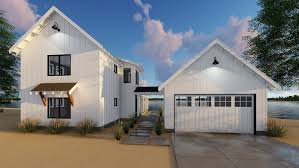 Detached Garage Floor Plans Plan 62650dj Modern Farmhouse Plan With 2 Beds And Semi Detached