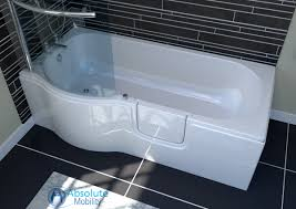 calypso walk in bath shower absolute mobility calypso walk in shower