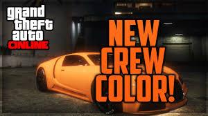 best orange color gta 5 online paint jobs best rare modded crew colors 24