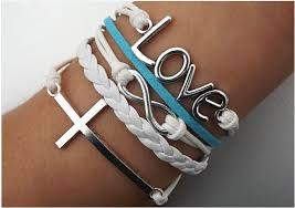 love braided bracelet images Bracelet bracelets hipsters jewelry infinity love cross anchor png