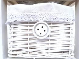 wicker basket bedside tables white wicker basket bedside table