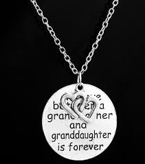 granddaughter necklace family necklace pendant the between and granddaughter