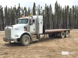 kenworth t800 truck 2001 kenworth t800 t a flatbed truck in fort mcmurray alberta