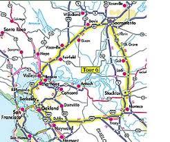 san francisco delta map 8 day california delta tour