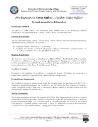 Security Guard Resume Example Fire Department Resume Resume Cv Cover Letter