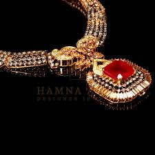 gold bridal set gold plated ruby bridal set